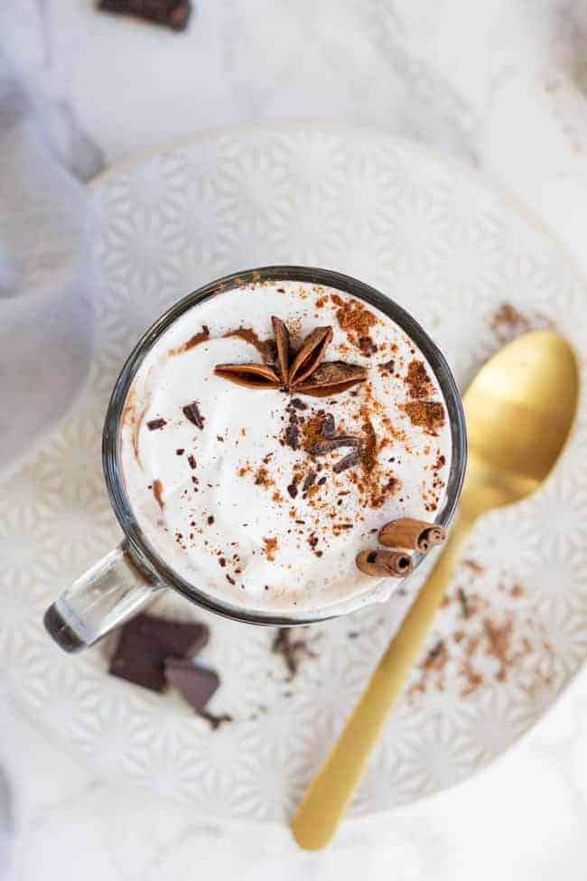 Slow Cooker Metabolism-Boosting Hot Chocolate