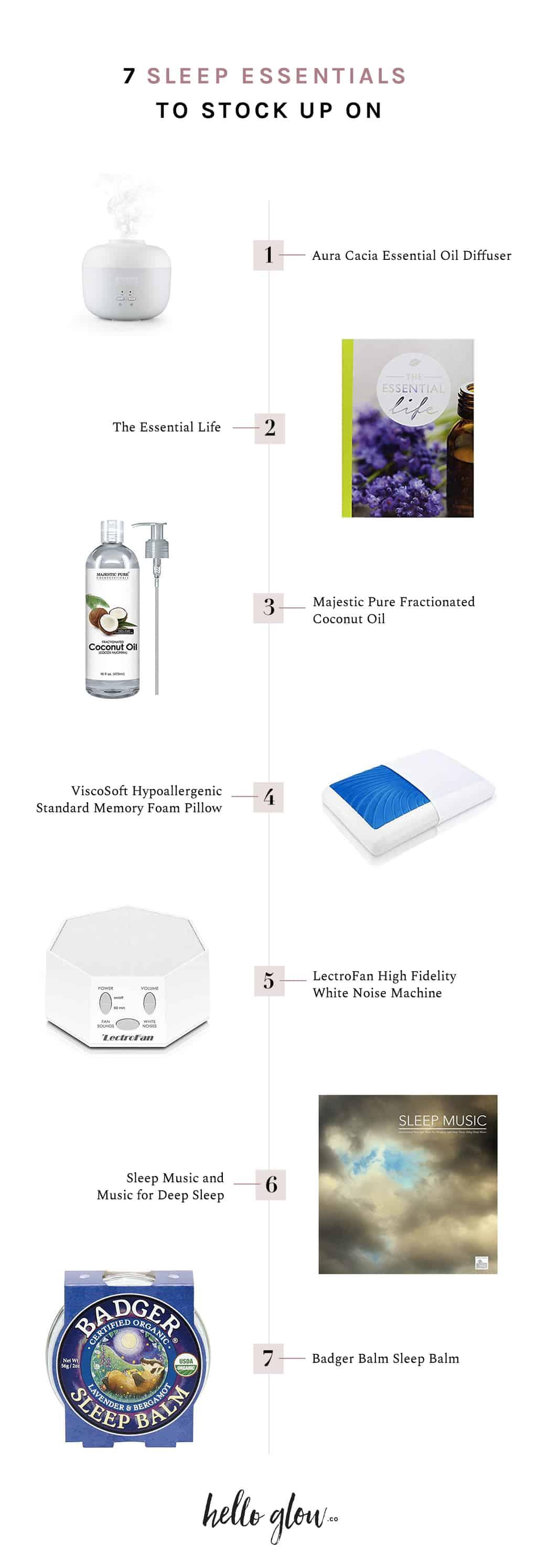 Essentials for a Good Night's Sleep