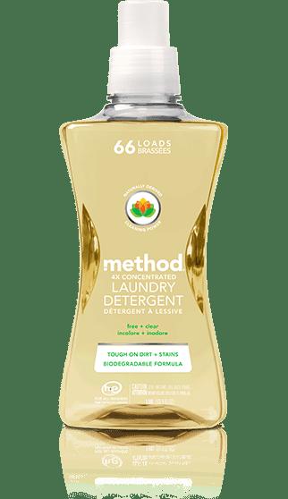 Fragrance-Free Detergent