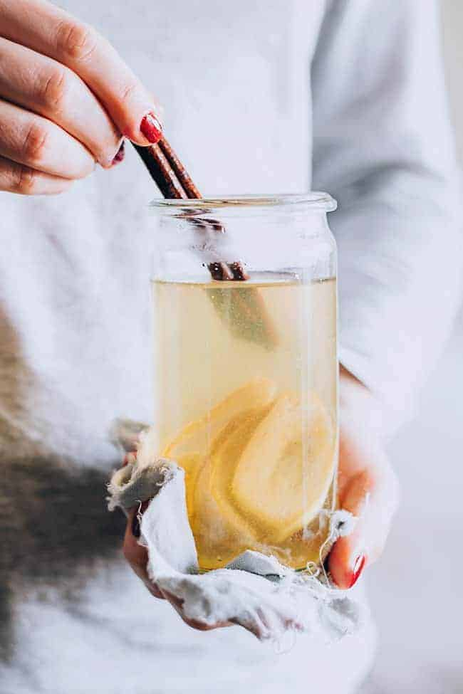 Inside + Out: 3 Banana Beauty Recipes + Sleep Well Banana Tea