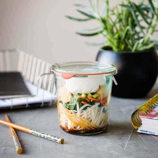 Thai Noodle Jar