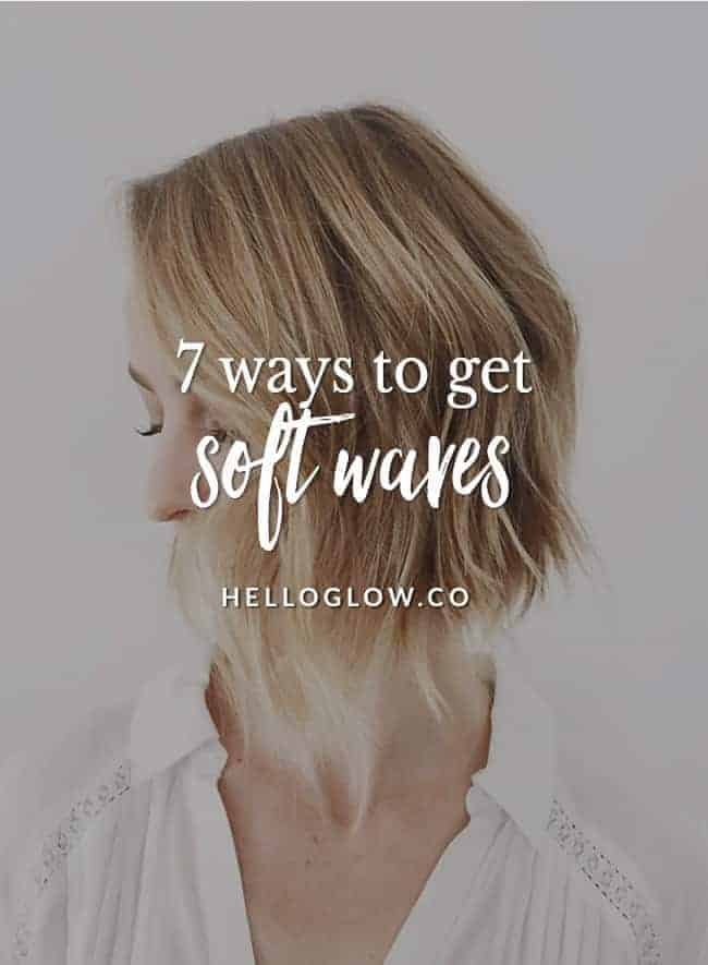 7 Ways To Get Soft Waves Even For Short Hair Hello Glow