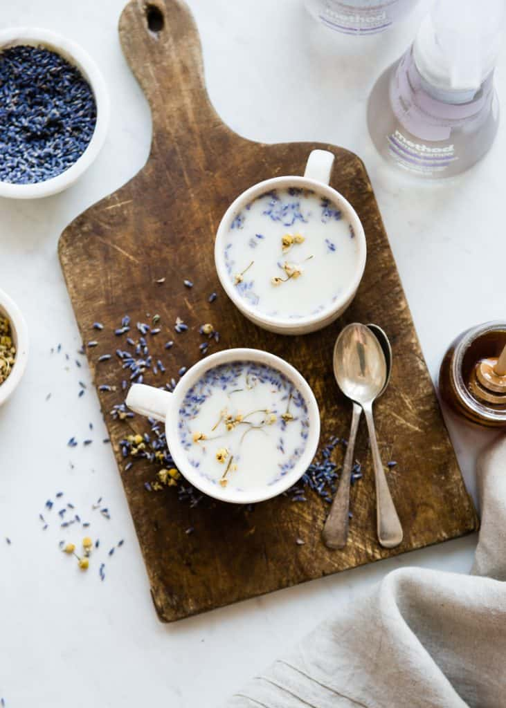 De-Stress With This Calming Chamomile Lavender Latte