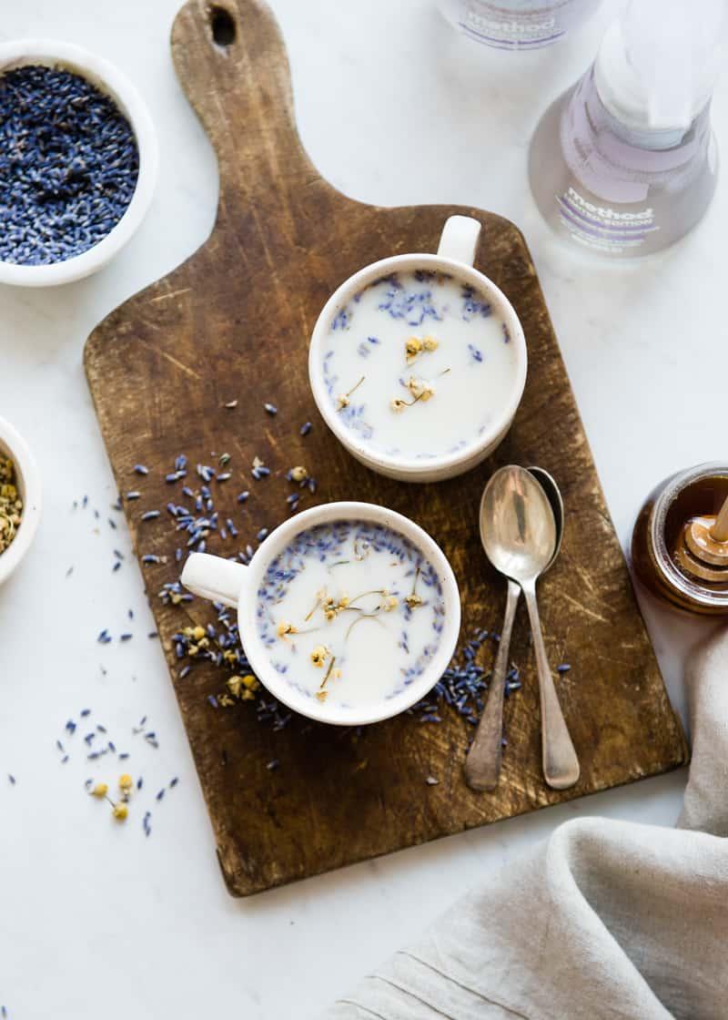 Menenangkan Chamomile Lavender Latte-5