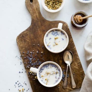 Chamomile Lavender Latte