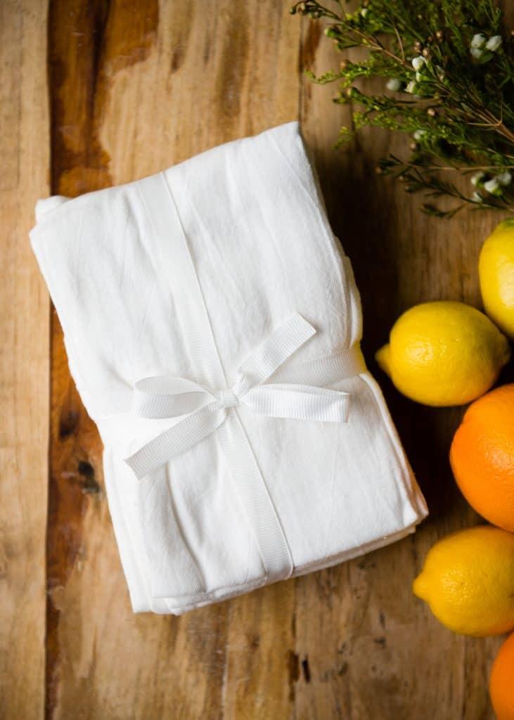 Tisu Debu Minyak Zaitun Jeruk DIY