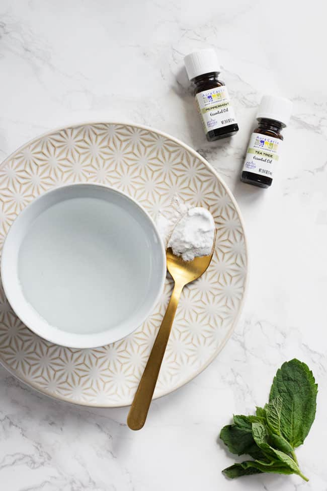Make This Essential Oil Mouthwash & Say Hello to Minty Fresh Breath