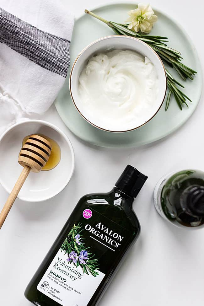 Nourishing Rosemary Hair and Face Mask