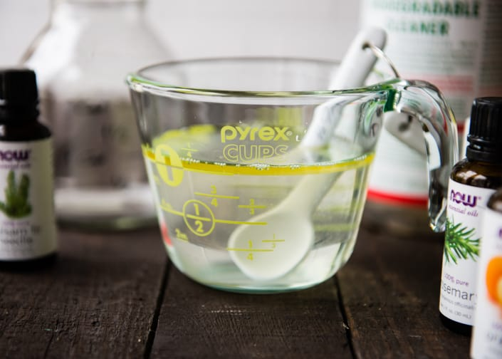 DIY Pine-Scented Cleaner