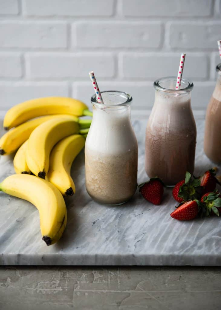 How to Make Banana Milk 3 Ways