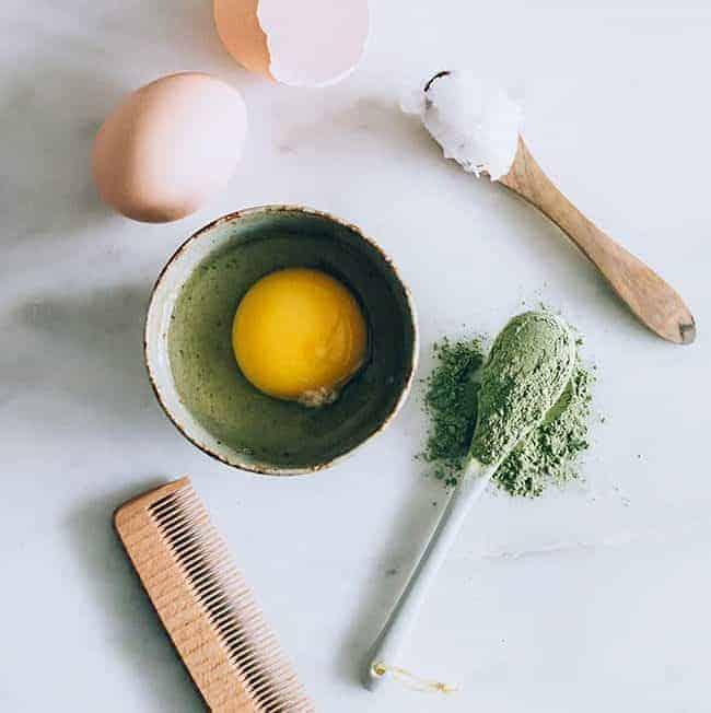 Green Tea Hair Mask