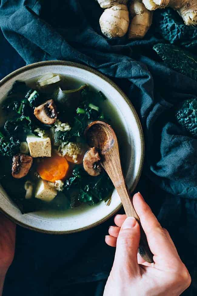 Healing Miso Soup Recipe