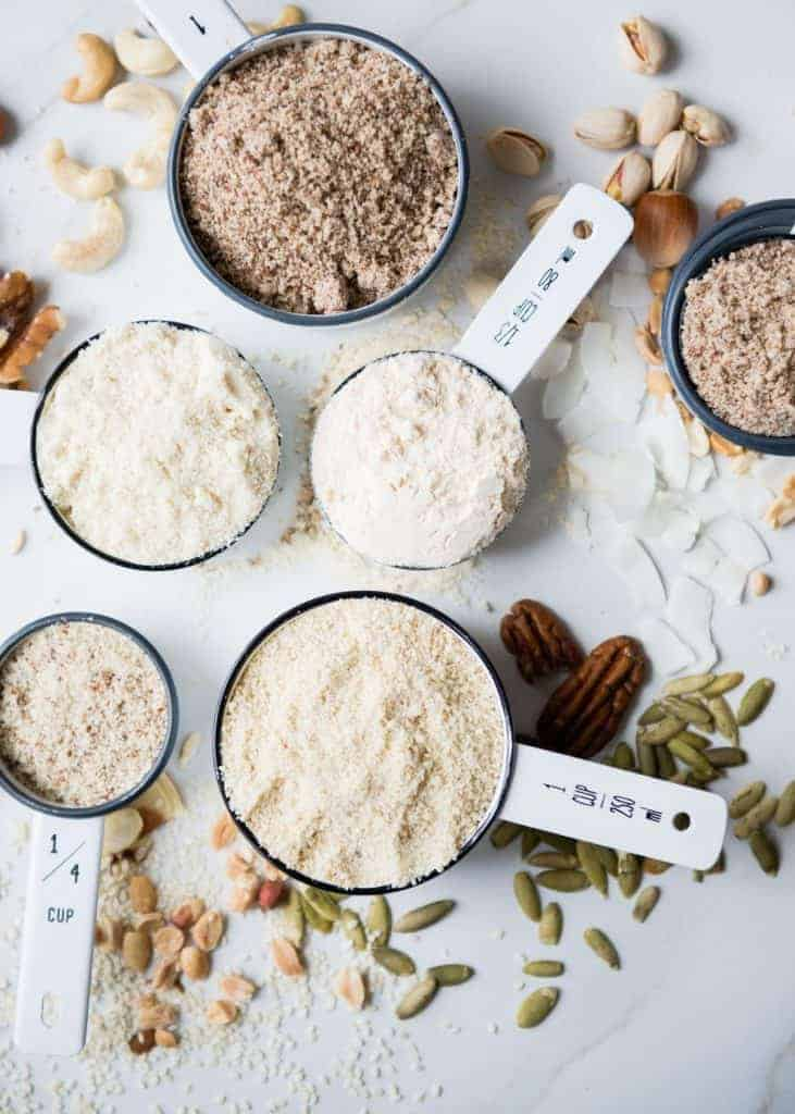 Nut and Seed Grain-Free Flour
