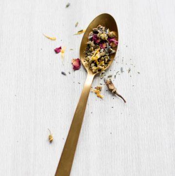 Herbal Tea for PMS relief