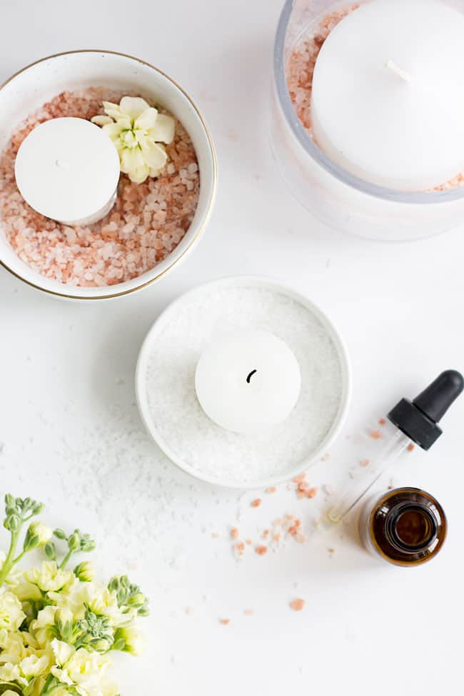 How to Make Himalayan Salt Candle Diffusers