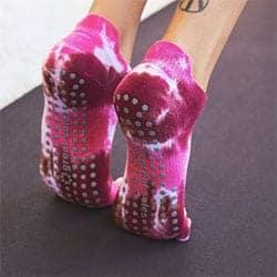Tie Dye Grip Yoga Sock