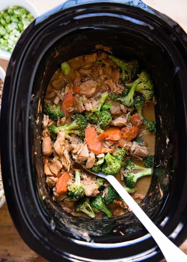 Slow Cooker Thai Peanut Curry Recipe Hello Glow
