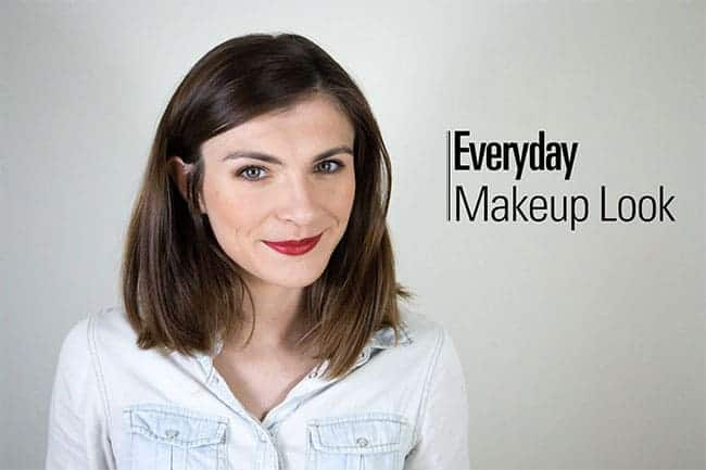 Everyday makeup look by The Very French Girl