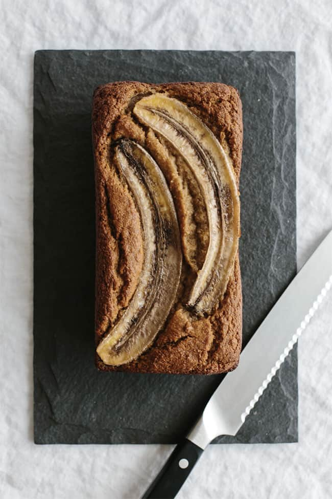 Super Moist Banana Bread from Downshiftology
