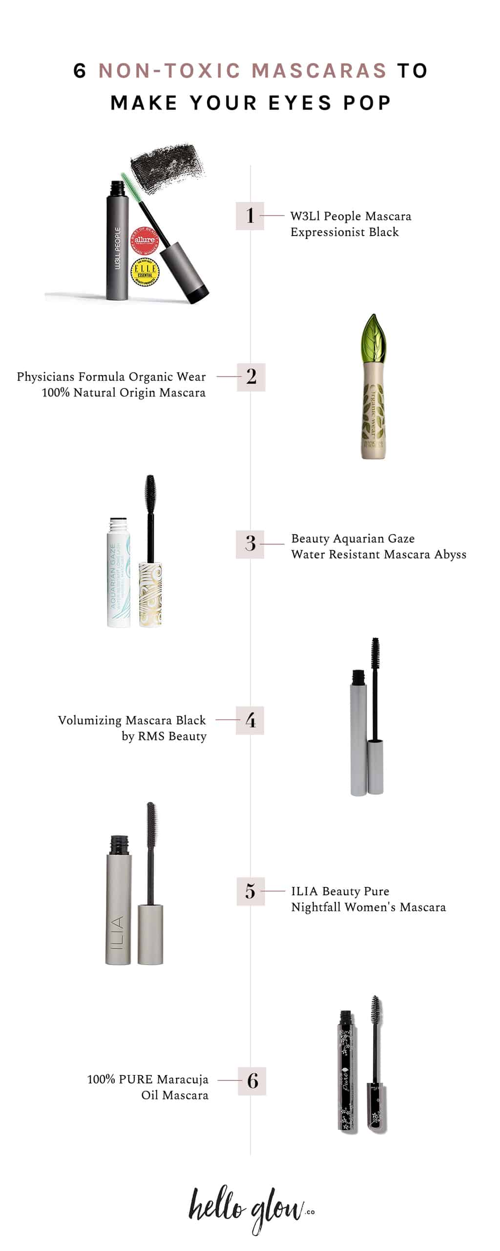 6 Natural Mascara Picks