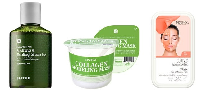 natural korean face mask