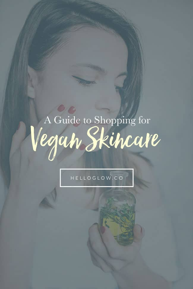 A Guide to Shopping for Vegan Skincare Products