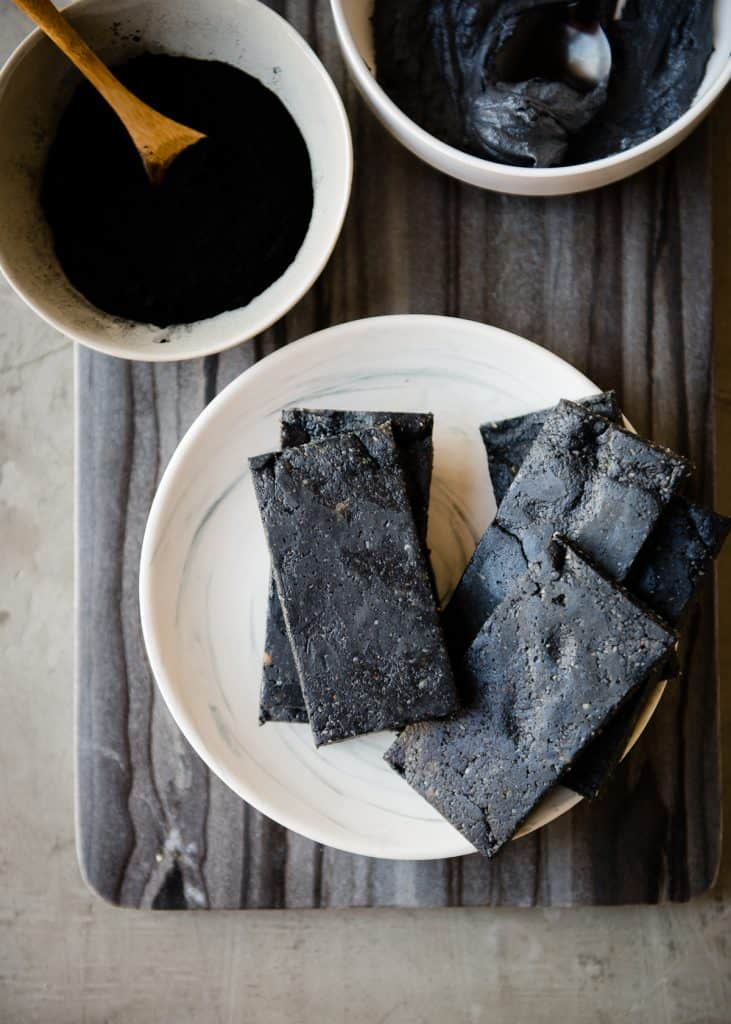 In + Out: Activated Charcoal Protein Bars and Polishing Scrub