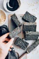 Activated Charcoal Protein Bars