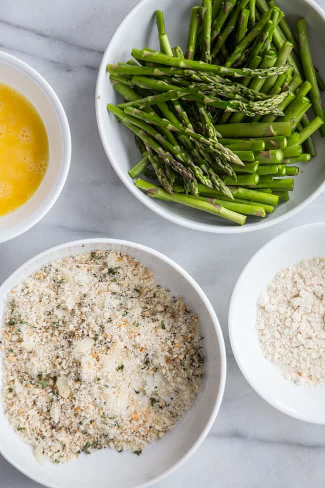 how to cook crispy asparagus