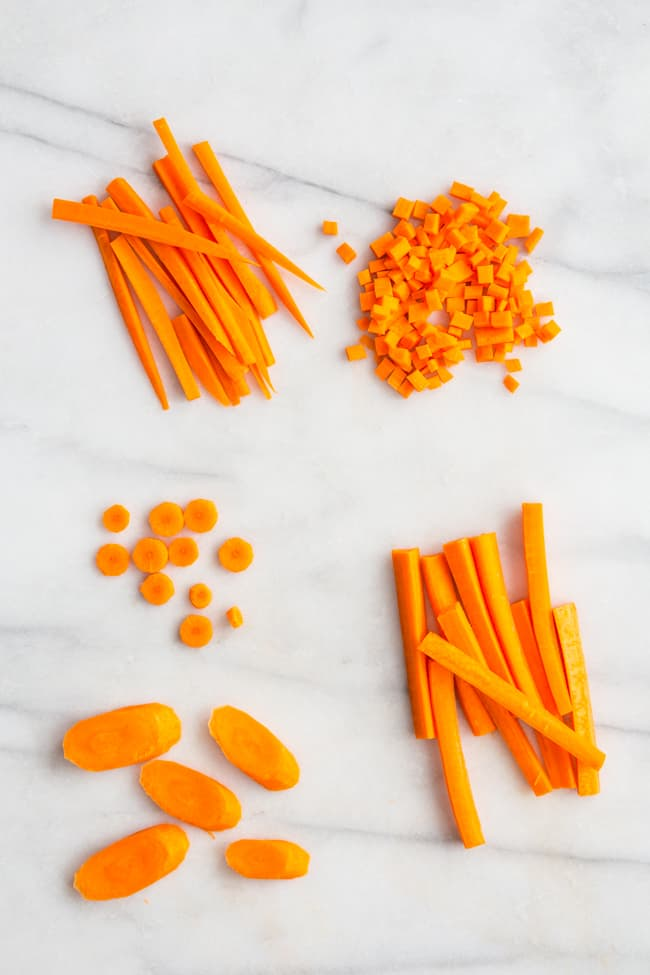How to Cut Carrots