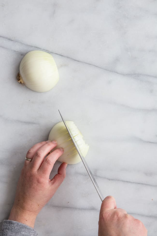 How to Cut Onions