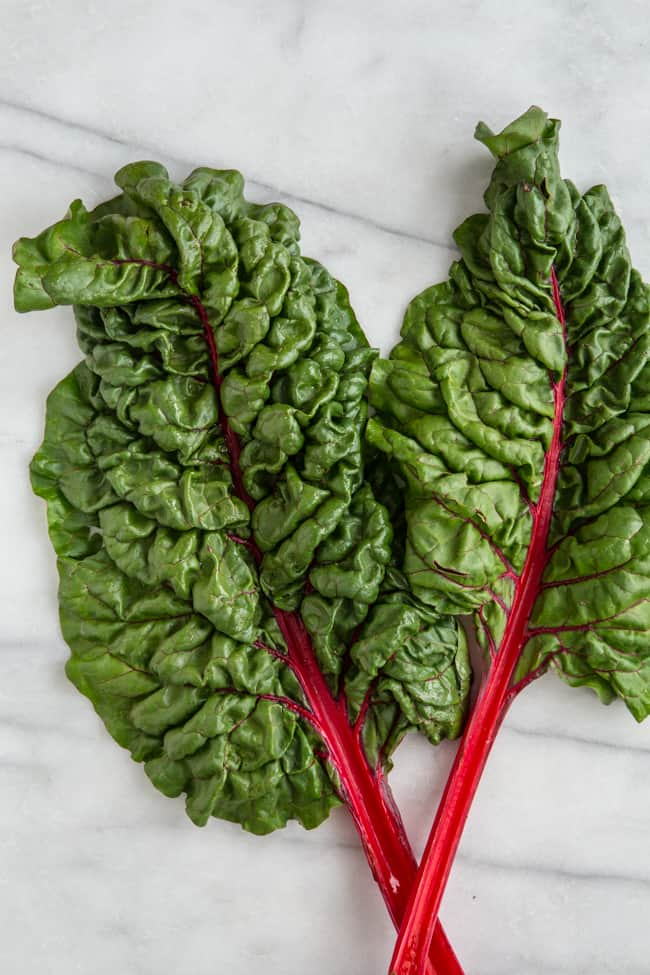 How to Cut Swiss Chard