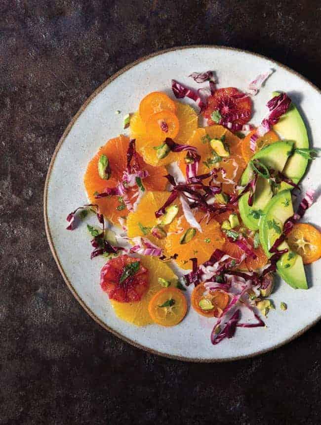Citrus and Avocado with Lime-Cumin Vinaigrette | Hello Glow
