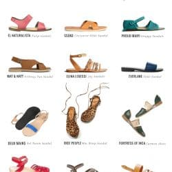 12 Pairs of Sandals Perfect For Spring