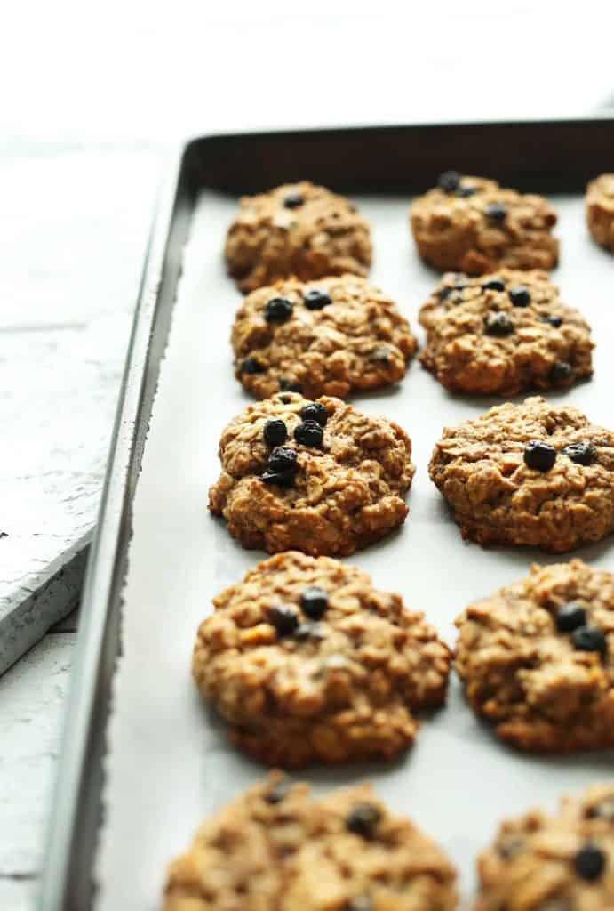 Blueberry Muffin Breakfast Cookies from Minimalist Baker