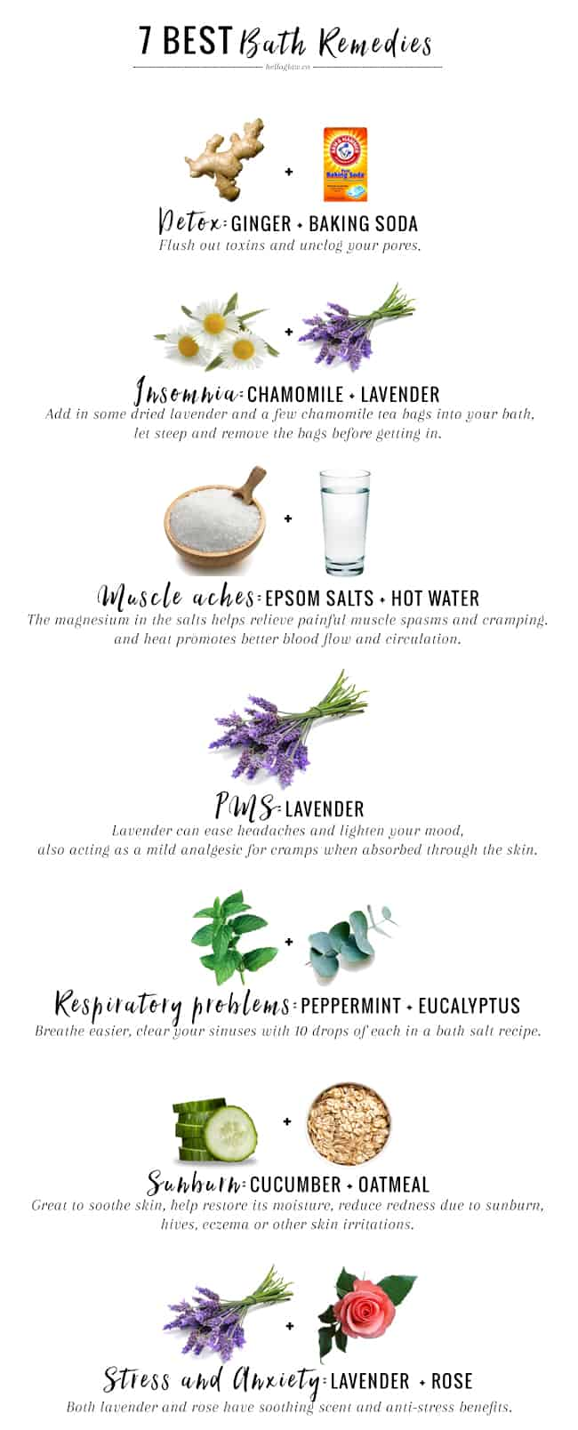 7 Best Bath Remedies For Everyday Ailments