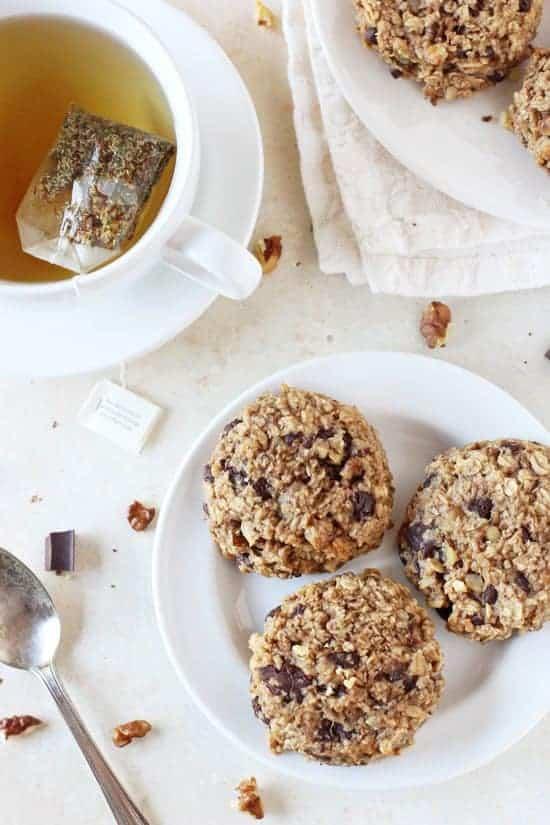 Banana Bread Breakfast Cookies from Cook Nourish Bliss