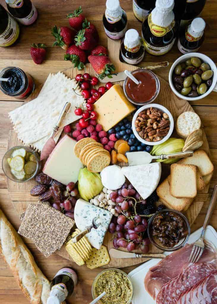 How To Build a Cheese Board for Summer Parties | HelloGlow.co