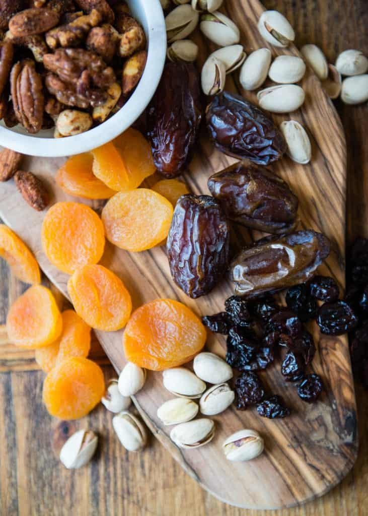 Epic Cheese Board | Dried Fruit and Nuts | HelloGlow.co