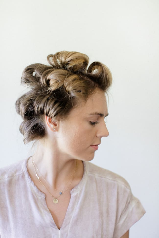 how to add volume to flat hair