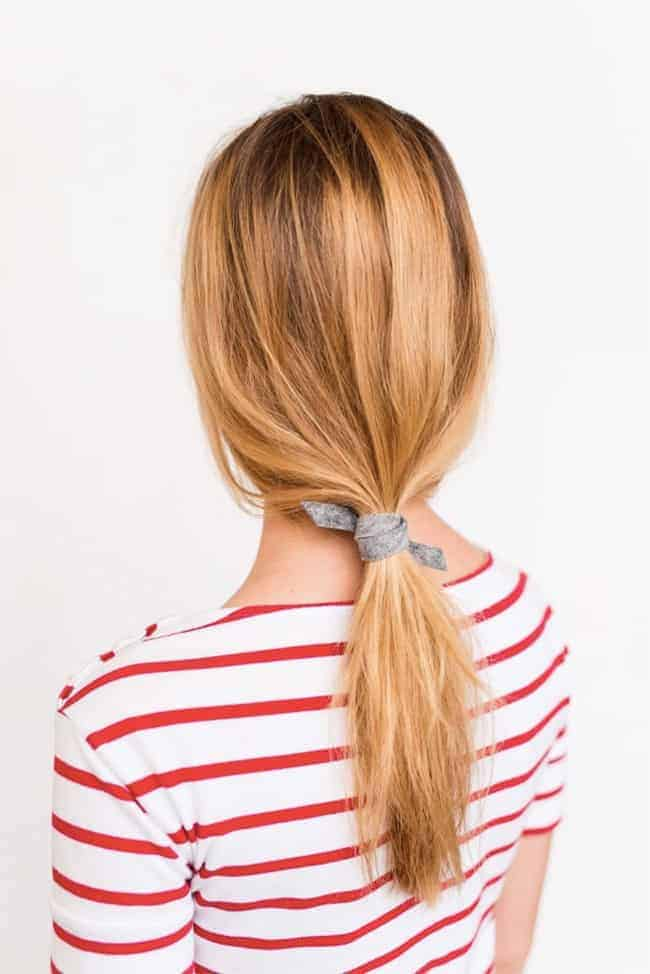 Effortless Ponytail