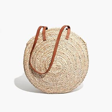 indigo&lavender large lucena shopper basket