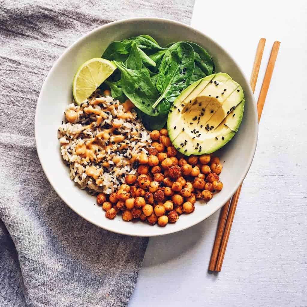 Vegan Buddha Bowl - Clémentine from ClemFoodie