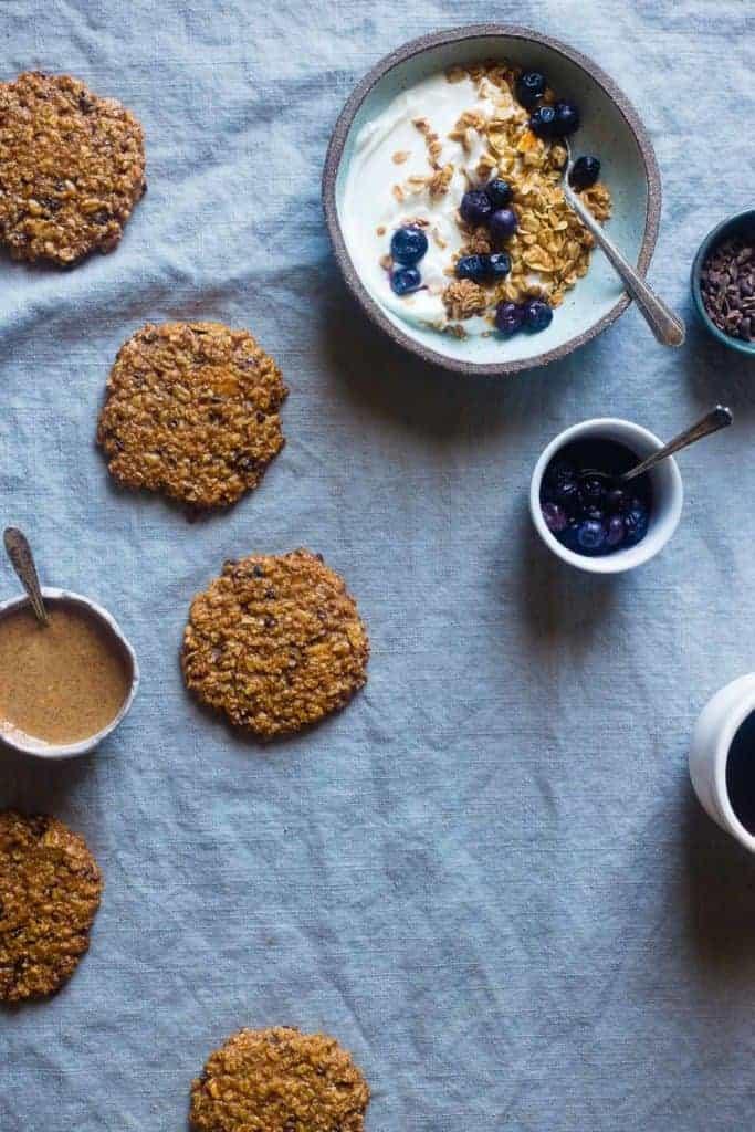 Vanilla Granola Breakfast Cookies from Food Faith Fitness