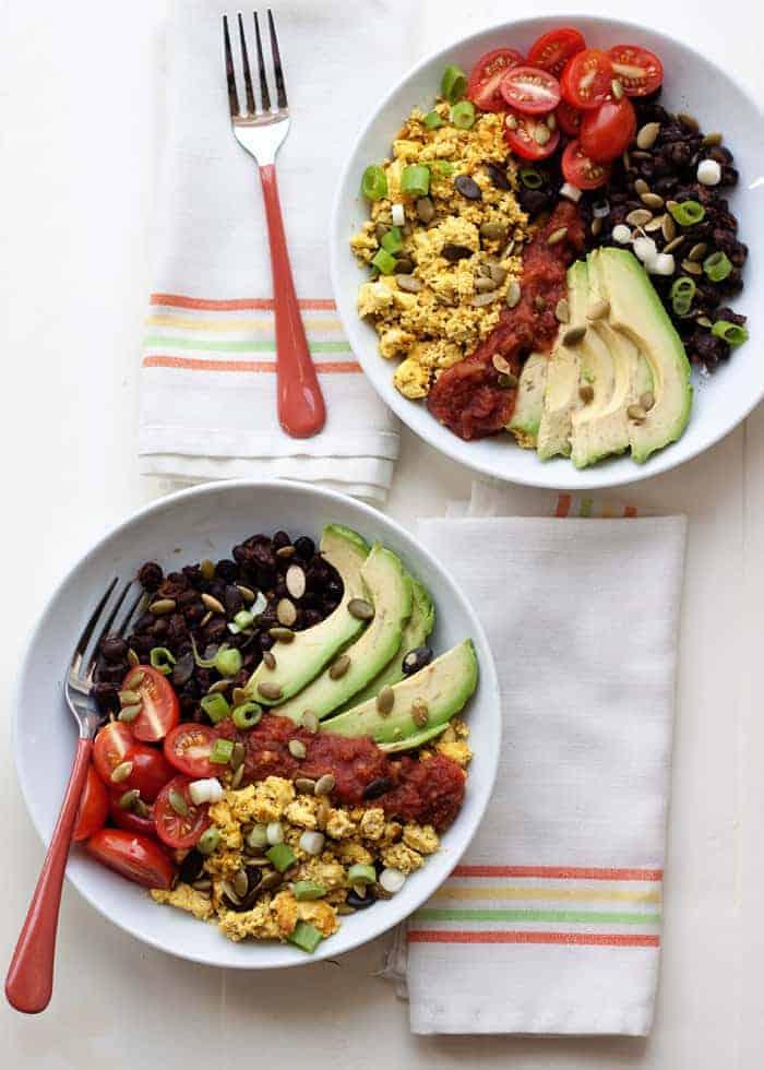 Plant Protein Power Breakfast Bowl - Kare from Kitchen Treaty