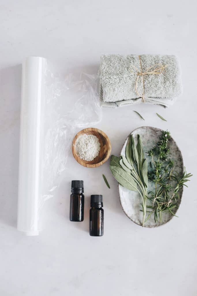 Herbal DIY Body Wrap