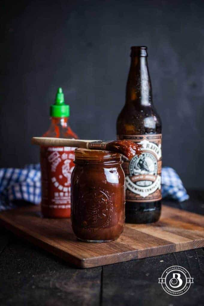 Stout Beer Barbecue Sauce from The Beeroness