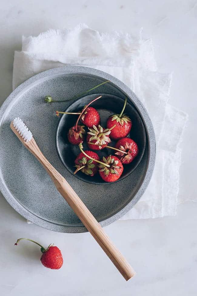 Strawberries for Teeth Whitening