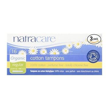 Natracare Organic Regular Tampons With Applicator