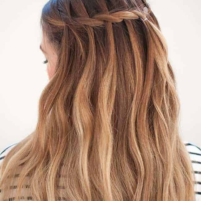 7 Waterfall Braid Tutorials For Perfect Summer Hair